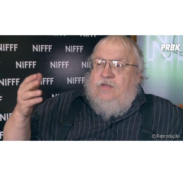 """George R. R. Martin comenta sobre continuação de """"Game of Thrones"""""""