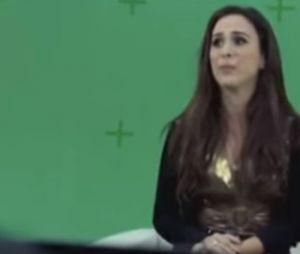 "Valdirene (Tatá Werneck) faz entrevista para entrar no ""Big Brother Brasil"""