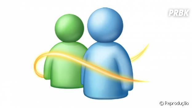 """""""MSN"""" era o messenger mais popular de todos na época"""
