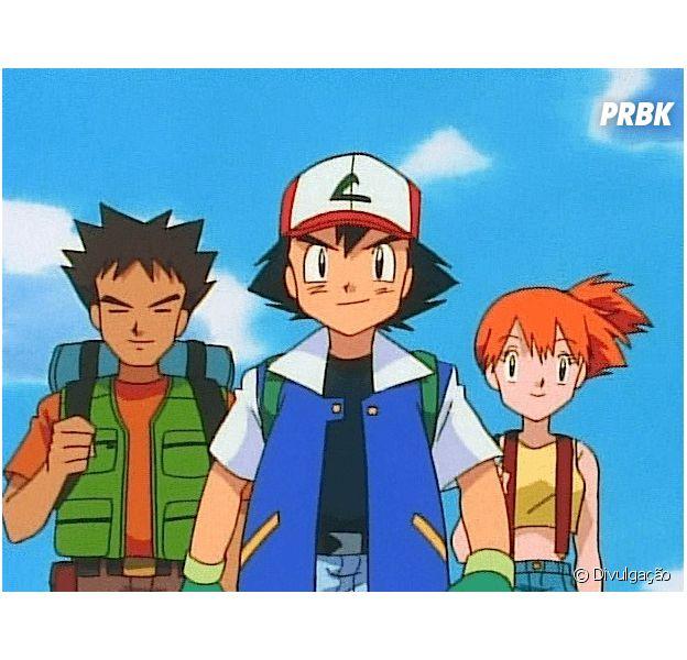"""De """"Pokémon"""": Misty e Brock  voltam a encontram Ash no anime!"""