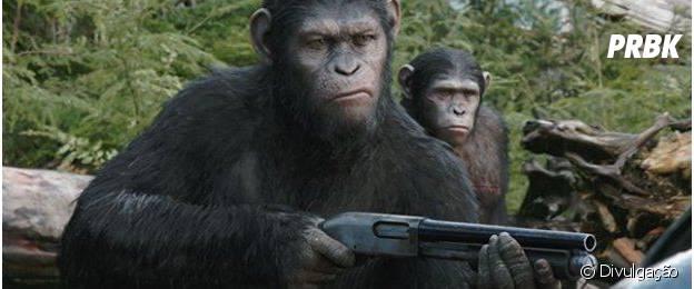 """""""Planeta dos Macacos: O Confronto"""" chega em julho aos cinemas brasileiros"""
