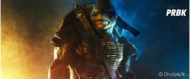 """""""As Tartarugas Ninja"""" traz os quelônio feitos por computação gráfica"""