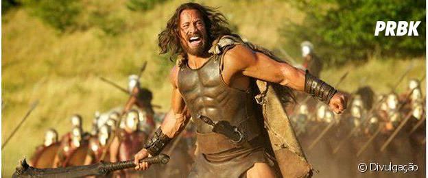 """Hércules"" traz The Rock no papel do semi-deus grego"
