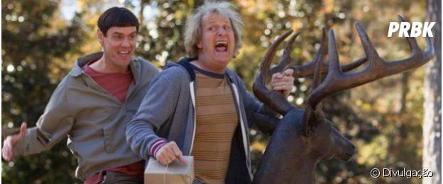 """""""Debi e Lóide"""" traz Jim Carrey e Jeff Daniels no papel dos protagonistas"""
