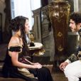 """Em """"Novo Mundo"""", Domitila (Agatha Moreira) e Dom Pedro (Caio Castro) se beijam novamente"""
