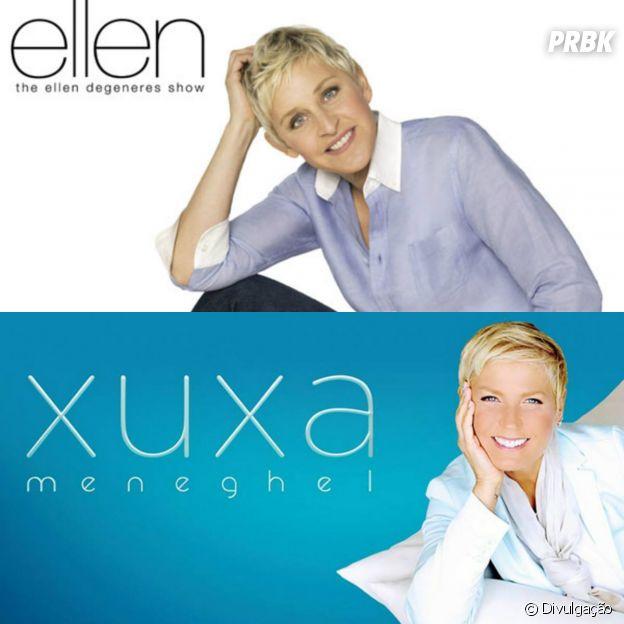 """""""Programa da Xuxa"""" e """"The Ellen DeGeneres Show"""""""
