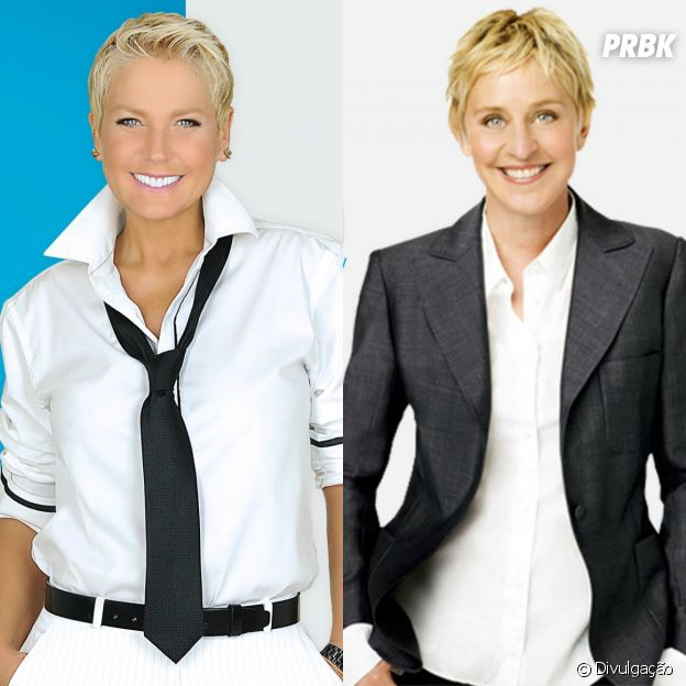 """Programa da Xuxa"" brasileiro e ""The Ellen DeGeneres Show"" americano"