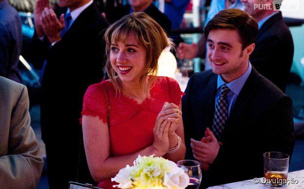 """Daniel Radcliffe e Zoe Kazan protagonizam comédia romântica """"Será Que?"""""""