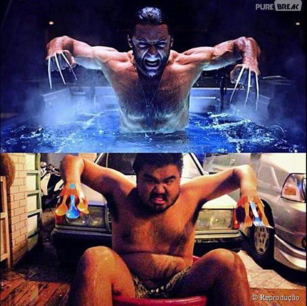 Consegue dizer qual é o Wolverine verdadeiro? kkkk