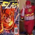 The Flash comeu 47 potes de sorvete na velocidade da luz e ficou assim!