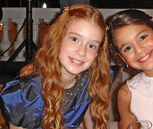 Marina Ruy Barbosa e Bruna Marquezine se conheceram na infância