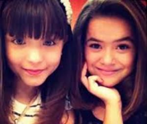 Larissa Manoela e Maisa Silva trabalharam juntas na infância e são amigas até hoje