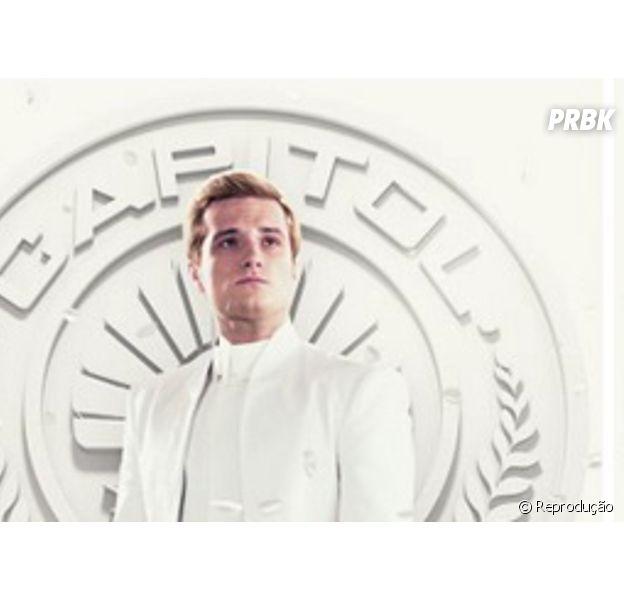 "Josh Hutcherson interpreta Peeta Mellark na franquia ""Jogos Vorazes"""
