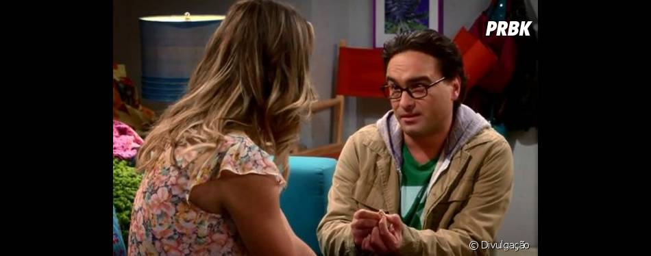 "Leonard (Johnny Galecki) pediu Penny (Kaley Cuoco) em casamento em ""The Big Bang Theory"""
