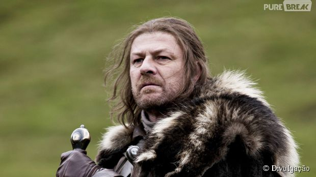 "Sean Bean participou do seriado ""Game of Thrones"""