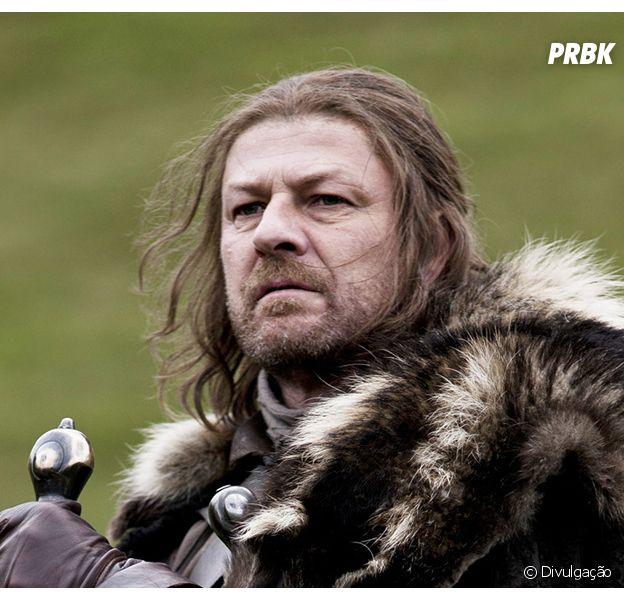 """Sean Bean participou do seriado """"Game of Thrones"""""""