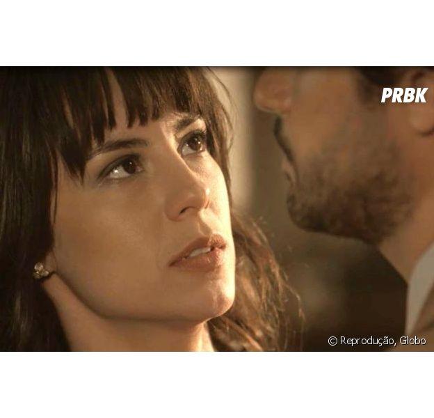 """Em """"Tempo de Amar"""", Lucinda (Andreia Horta) e Inácio (Bruno Cabrerizo) ficam noivos!"""