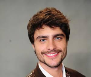 """Mas recente, Guilherme Leicam interpretou o ciumento Laerte na segunda fase de """"Em Família"""". Olha ele de barba aí gente!"""