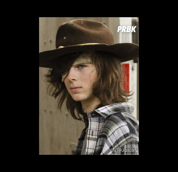 """Em """"The Walking Dead"""": Carl (Chandler Riggs) pode virar novo Negan (Jeffrey Dean Morgan), segundo ator!"""