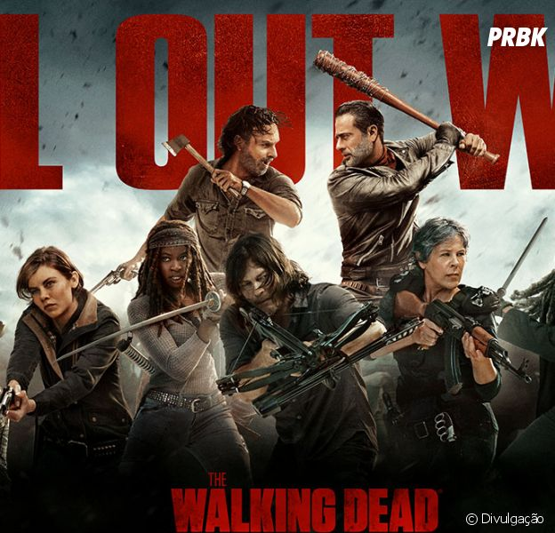 """Em """"The Walking Dead"""", 8ª temporada não bate bons números de audiência!"""