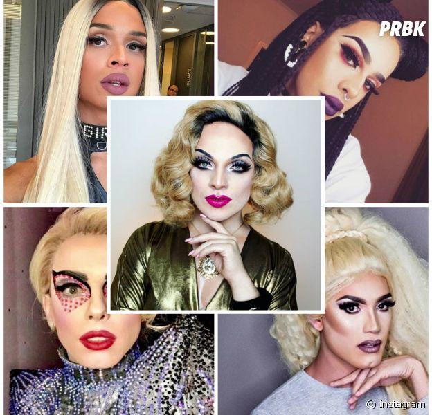 Aretuza Lovi, Gloria Groove, Penelopy Jean, Lia Clark, Lorelay Fox e 5 Drag Queens brasileiras que você precisa conhecer!