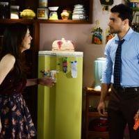 """Novela """"Carinha de Anjo"""": Cecília (Bia Arantes) briga com Gustavo e o expulsa da sua casa!"""