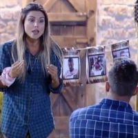 """De """"A Fazenda"""", Marcos e Flávia brigam feio e trocam xingamentos: """"Não te aguento mais"""""""