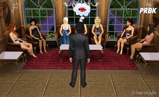 """Te julgam, mas ninguém sabe como você era pegador no """"The Sims"""""""