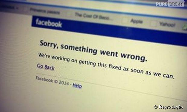 Ops, a redes sociais estão fora do ar: Facebook e Instagram param