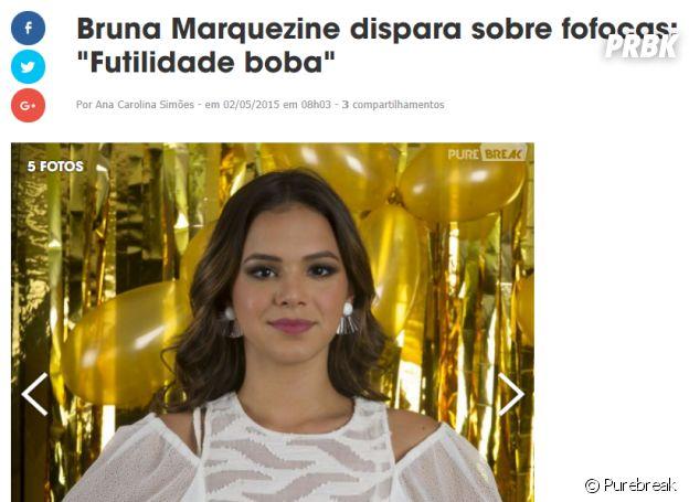 Bruna Marquezine de Virgem