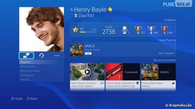 Atualização do PS4 vai permitir usar nome real no cadastro da rede