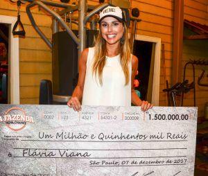 """Vencedora de """"A Fazenda"""", Flavia minimiza brigas com Marcos"""