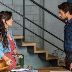 """Novela """"O Outro Lado do Paraíso"""": Clara (Bianca Bin) e Renato se beijam após reconciliação!"""