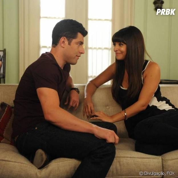 """Em """"New Girl"""", Cece (Hannah Simone) e Schmidt (Max Greenfield) podem ficar juntos novamente"""