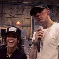 """Rihanna e Eminem ensaiam para a turnê """"The Monster Tour"""""""