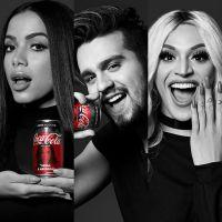 Anitta, Luan Santana e Pabllo Vittar em parceria? Coca-Cola anuncia projeto com 9 artistas!