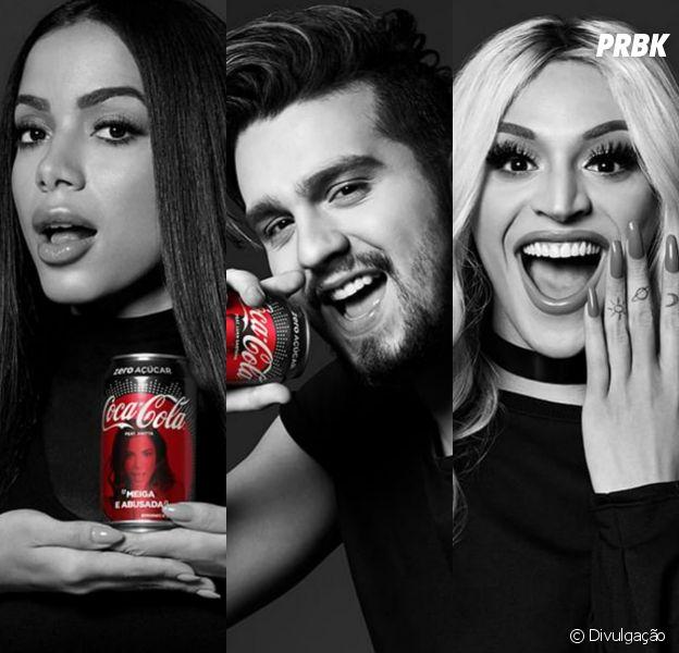 Coca-Cola anuncia projeto com Anitta, Luan Santana, Pabllo Vittar e mais!