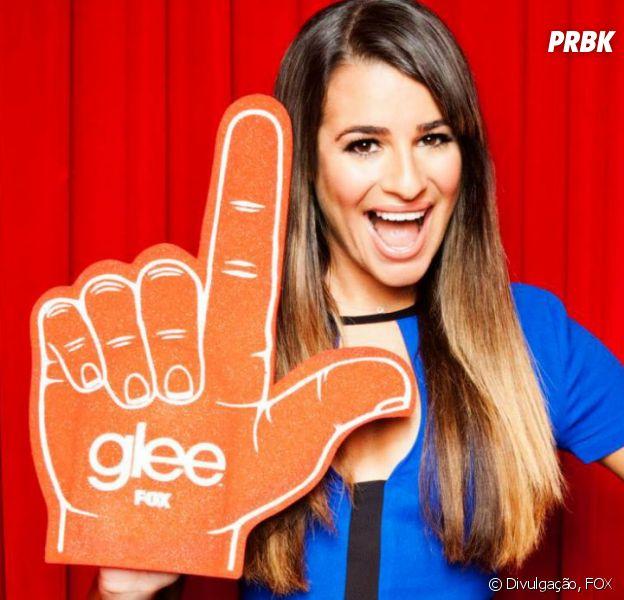 "Rachel (Lea Michele) volta para o McKinley High em ""Glee"""
