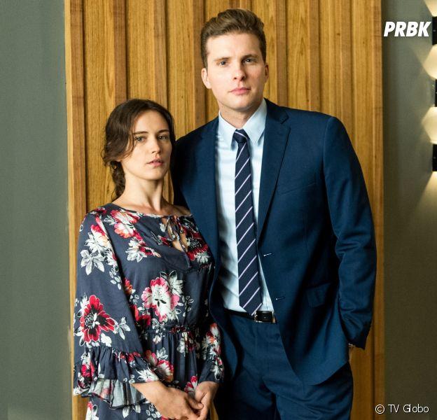 "Saiba como será o primeiro beijo de Clara (Bianca Bin) e Patrick (Thiago Fragoso), em ""O Outro Lado do Paraíso"""