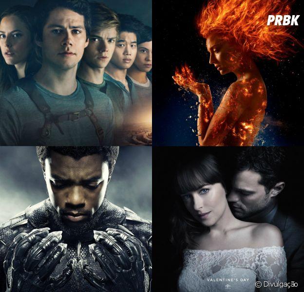 Confira a lista de algumas das estreias mais esperadas do cinema em 2018