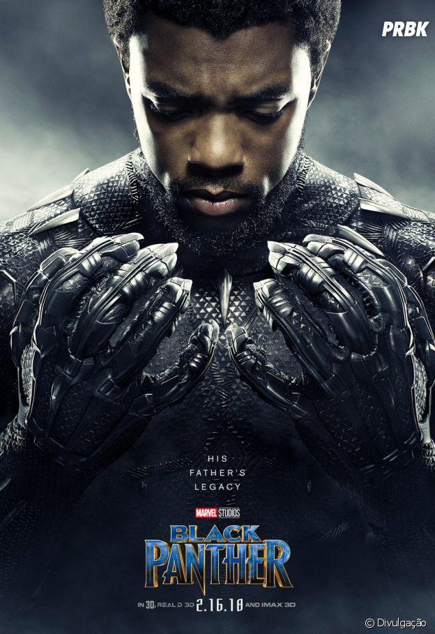 """""""Pantera Negra"""" mostra o herdeiro do reino de Wakanda tentando defender seu trono"""