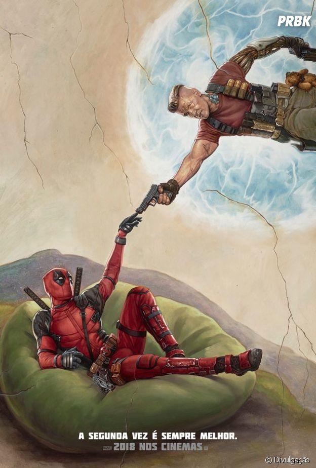 """A sequência """"Deadpool 2"""" estreia dia 21 de maio e traz personagens novos para a franquia de sucesso"""