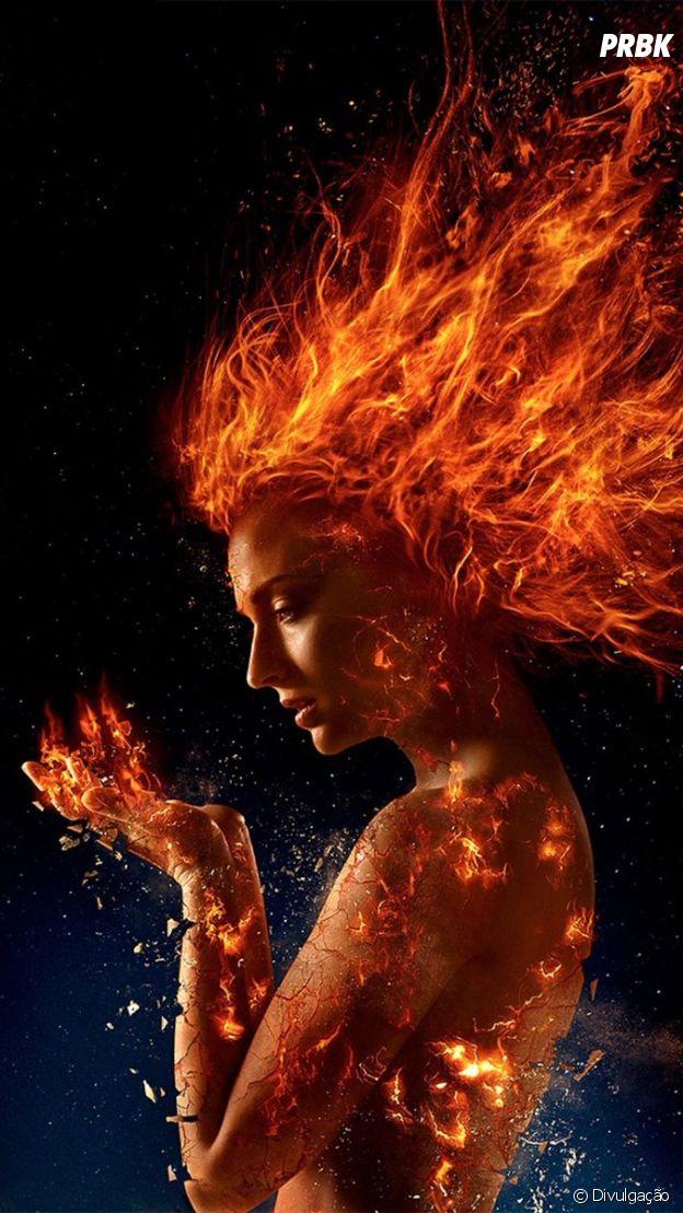 """""""X-Men: Fênix Negra"""": filme mostra como Jean Grey (Sophie Turner) se torna um ser cósmico com poderes"""
