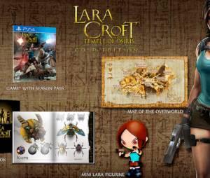 "A Gold Edition de ""Lara Croft and the Temple of Osiris"""