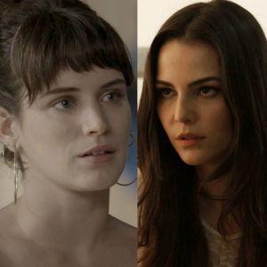 """Novela """"O Outro Lado do Paraíso"""": Aura revela que pode ser irmã de Clara"""