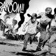 """A batalha da Zona Segura de Alexandria, nos quadrinhos de """"The Walking Dead"""""""