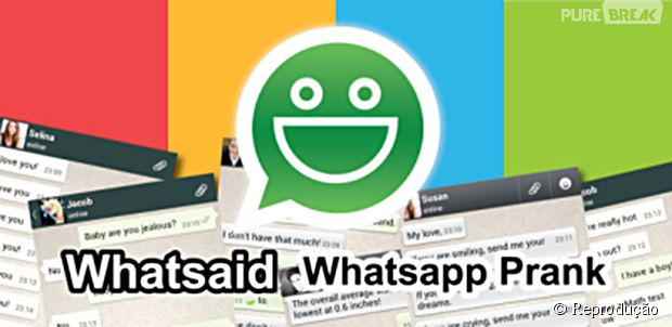 Whatsaid permite a criação de conversas fake para Whatsapp