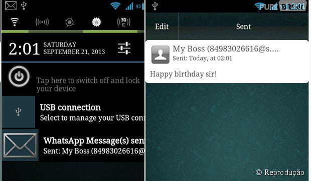 Como agender o envio de mensagens no Whatsapp