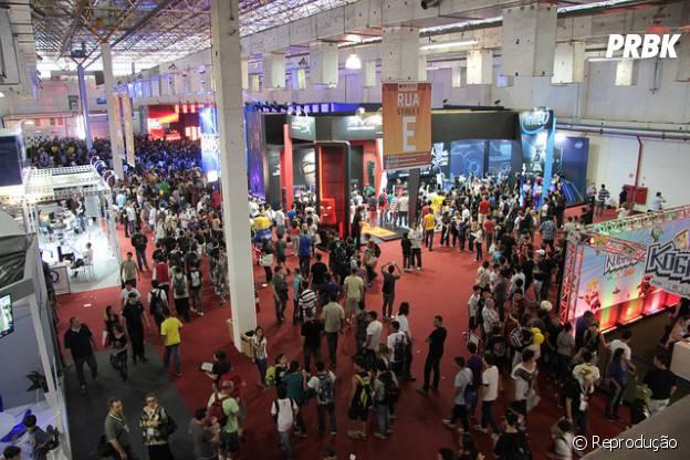 """""""Brasil Game Show 2014"""" estará maior e cheia de atrações"""