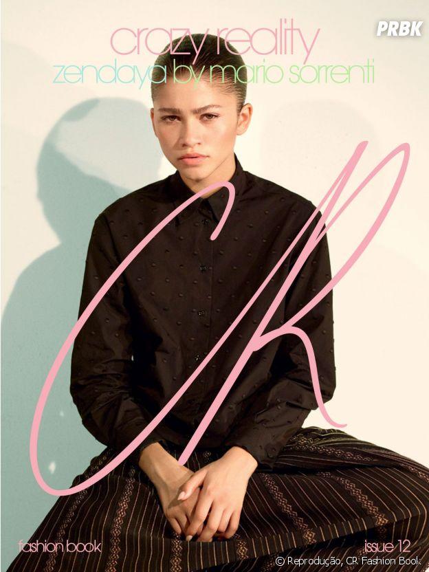 Zendaya posa para CR Fashion Book e fala sobre homem ideal e aniversário de 21 anos!